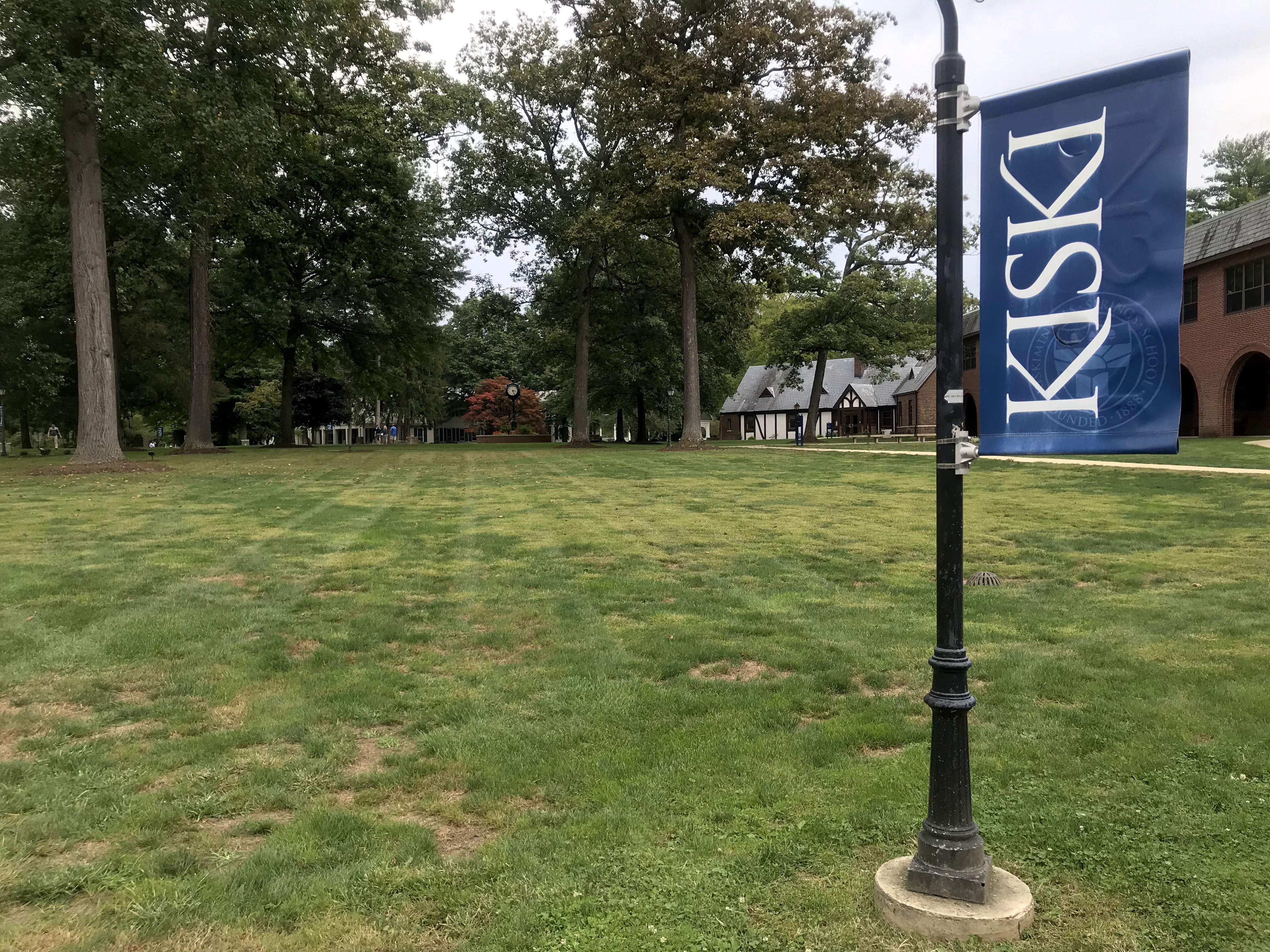 Kiski School 入口处